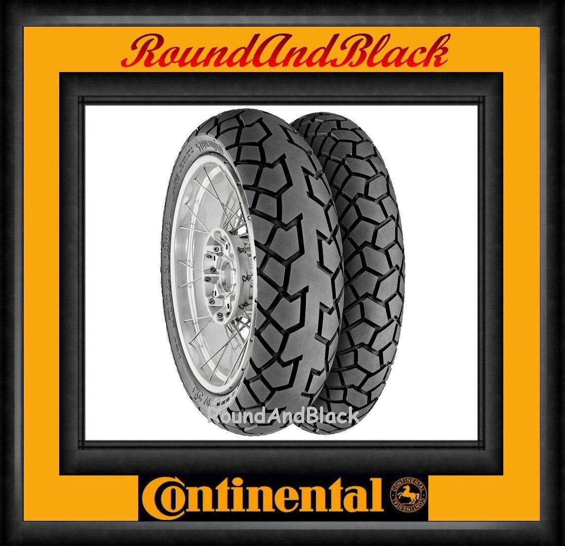 110 80 19 59v 150 70 17 69v continental conti tkc70 motorcycle trail tyres set ebay. Black Bedroom Furniture Sets. Home Design Ideas
